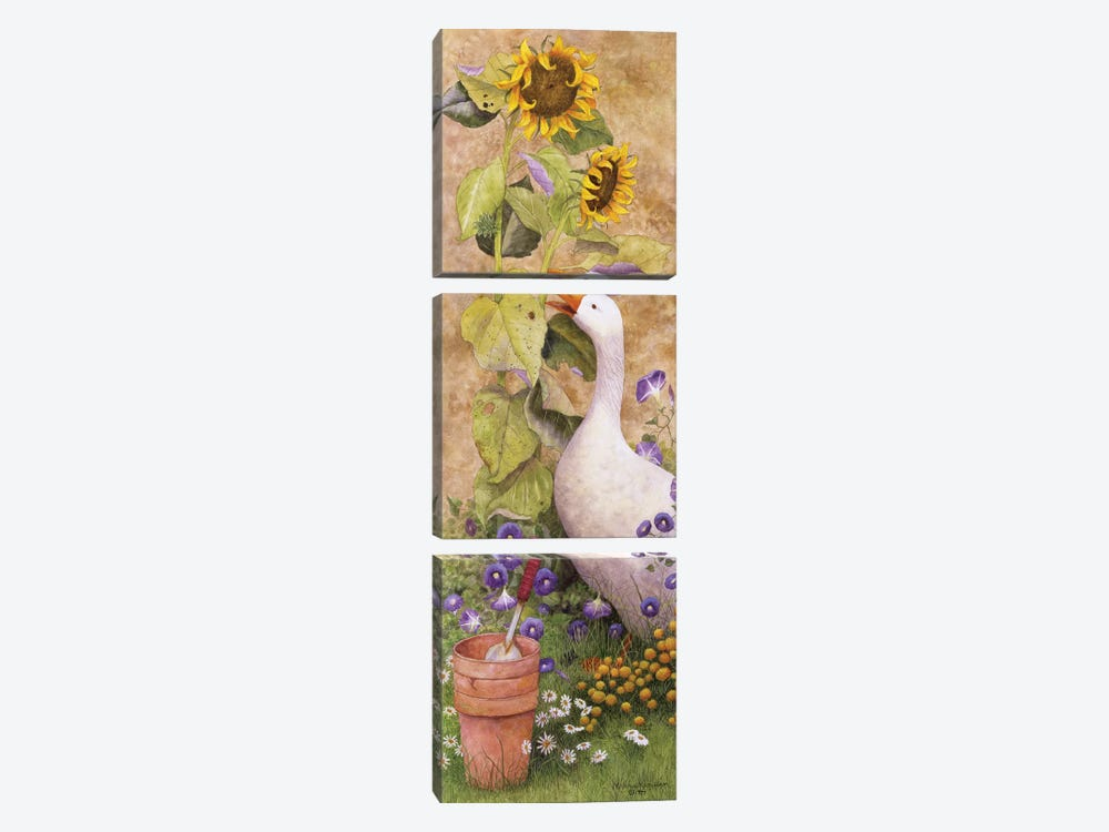 Garden March II by Marcia Matcham 3-piece Canvas Artwork