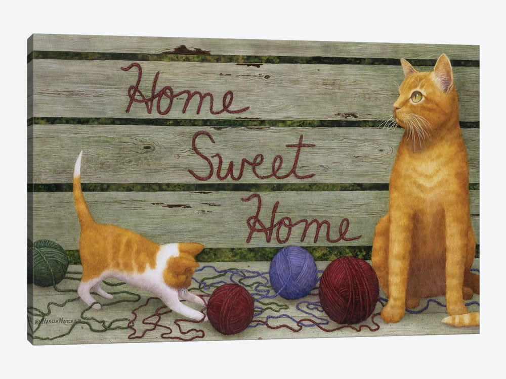Home Sweet Home by Marcia Matcham 1-piece Canvas Wall Art