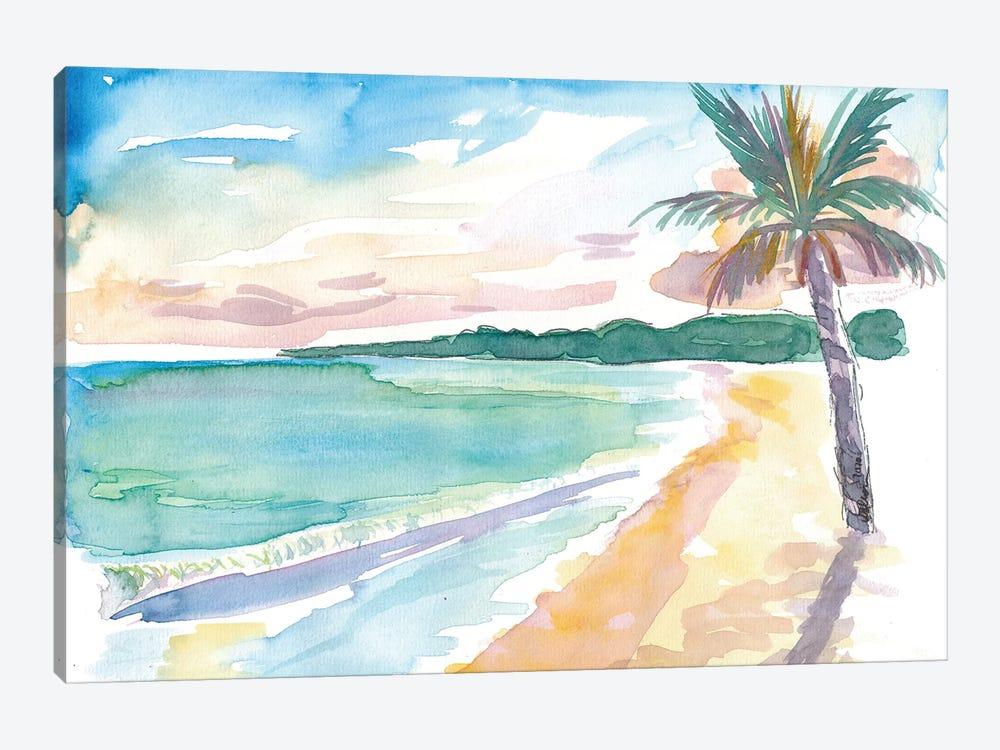 Grand Anse Beach Caribbean Vibes In Grenada by Markus & Martina Bleichner 1-piece Art Print