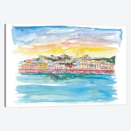 Ponza Pontine Island Romantic in Italy Canvas Print #MMB254} by Markus & Martina Bleichner Art Print