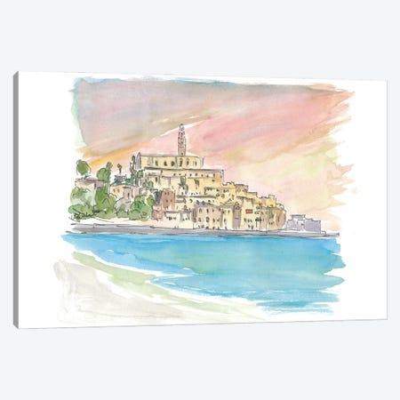 Tel Aviv Jaffa View of Old Town And Sea Canvas Print #MMB274} by Markus & Martina Bleichner Canvas Art Print