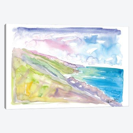 Spectacular Big Sur Coastline View Canvas Print #MMB404} by Markus & Martina Bleichner Canvas Wall Art