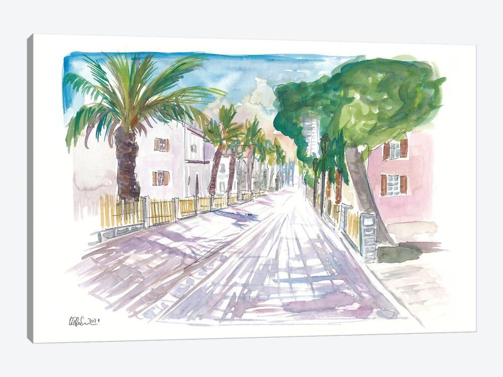 Sarona Tel Aviv Street Scene Afternoon by Markus & Martina Bleichner 1-piece Canvas Art
