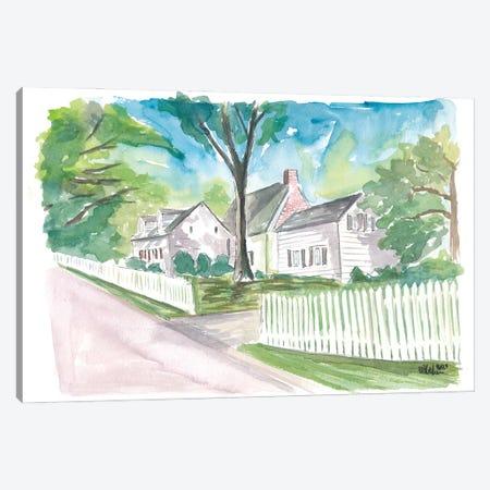Richmond Town Staten Island Nyc Perine House Canvas Print #MMB534} by Markus & Martina Bleichner Canvas Artwork