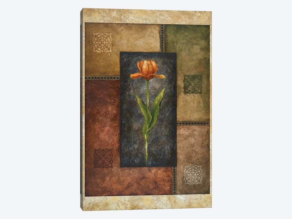 Orange Tulip by Michael Marcon 1-piece Canvas Wall Art