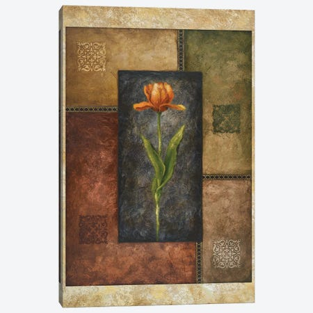 Orange Tulip Canvas Print #MMC104} by Michael Marcon Canvas Wall Art