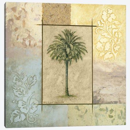 Palm Woodcut II Canvas Print #MMC106} by Michael Marcon Canvas Artwork
