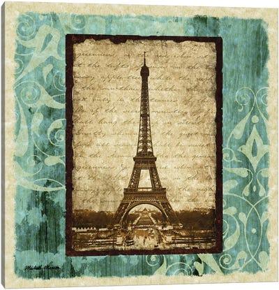 Parisian Trip I Canvas Art Print