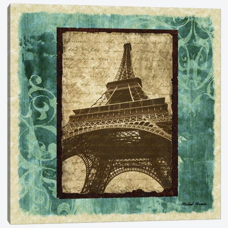 Parisian Trip II Canvas Print #MMC109} by Michael Marcon Art Print