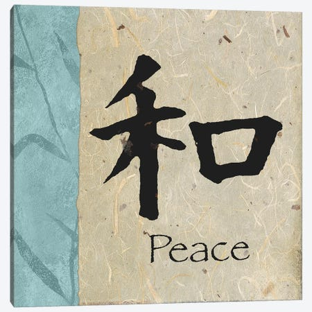 Peace Canvas Print #MMC110} by Michael Marcon Canvas Wall Art