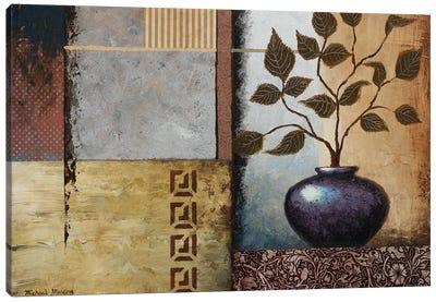 Plum Vase Canvas Art Print