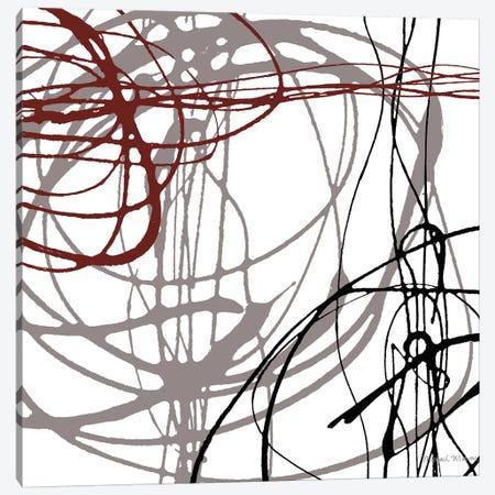 Swirl Velocity I Canvas Print #MMC138} by Michael Marcon Canvas Wall Art