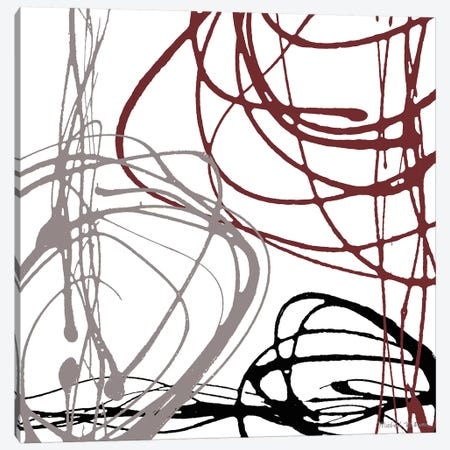 Swirl Velocity II Canvas Print #MMC139} by Michael Marcon Canvas Artwork