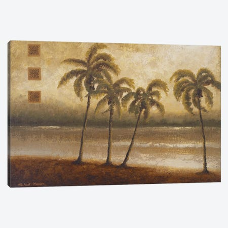 Tropical Escape I Canvas Print #MMC145} by Michael Marcon Canvas Art