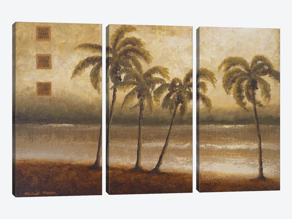 Tropical Escape I by Michael Marcon 3-piece Art Print