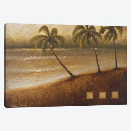 Tropical Escape II Canvas Print #MMC146} by Michael Marcon Canvas Wall Art