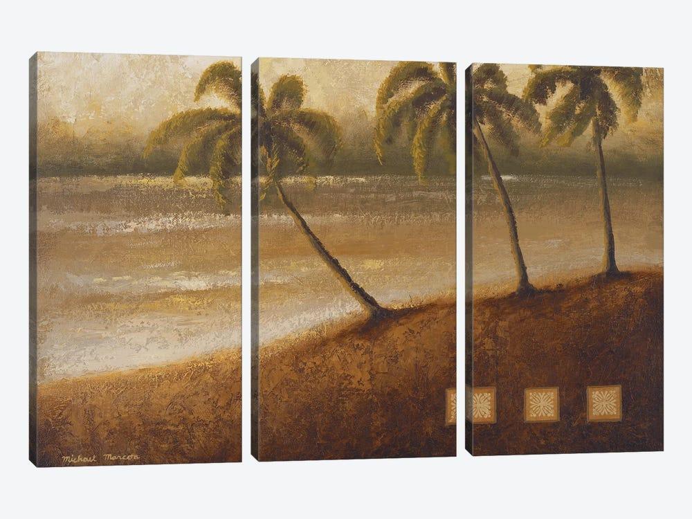 Tropical Escape II by Michael Marcon 3-piece Canvas Wall Art