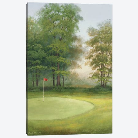 Amacoy Green I Canvas Print #MMC14} by Michael Marcon Canvas Art
