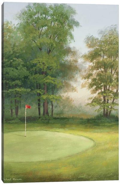 Amacoy Green I Canvas Art Print