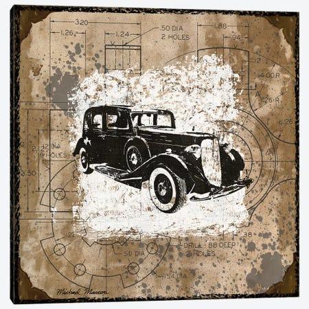 Vintage Ride II Canvas Print #MMC154} by Michael Marcon Canvas Print