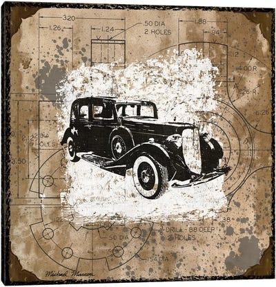 Vintage Ride II Canvas Art Print