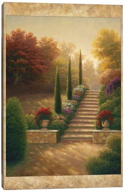 Viola Gardens Canvas Art Print