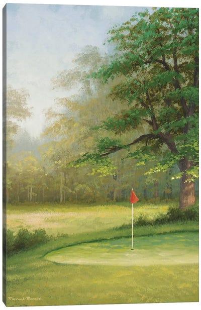 Amacoy Green II Canvas Art Print