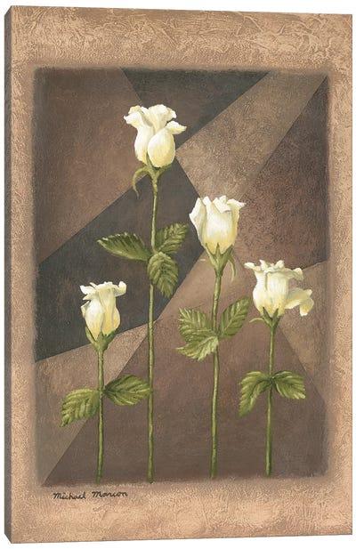 Yellow Roses Canvas Art Print
