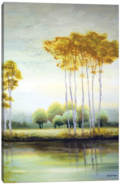 September Calm II Canvas Art Print
