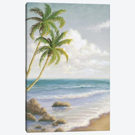 Atlantic Seaside I Canvas Print #MMC24} by Michael Marcon Art Print