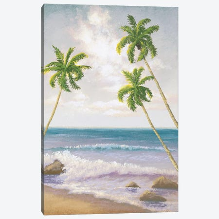Atlantic Seaside II Canvas Print #MMC25} by Michael Marcon Art Print