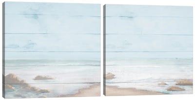 Atlantic Coast Diptych Canvas Art Print