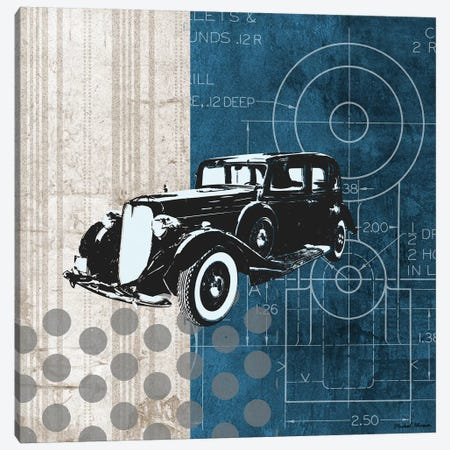 Classy Ride I Canvas Print #MMC35} by Michael Marcon Canvas Wall Art