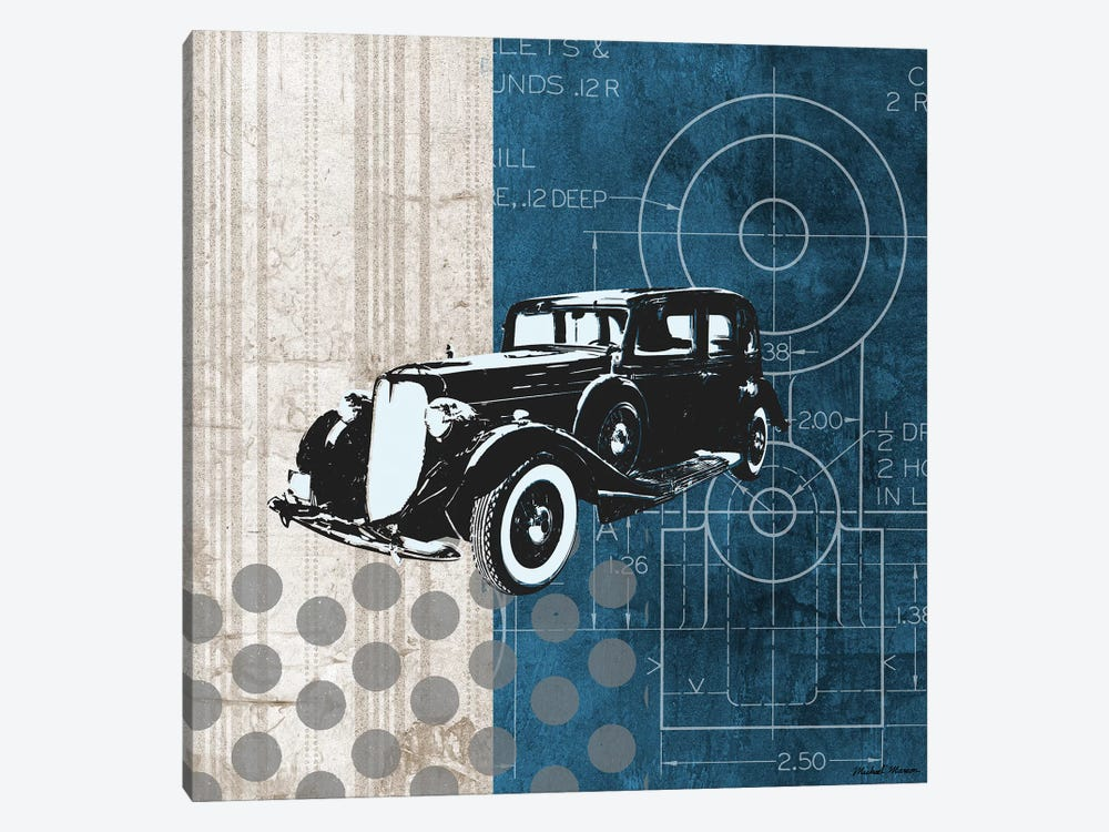 Classy Ride I by Michael Marcon 1-piece Canvas Wall Art
