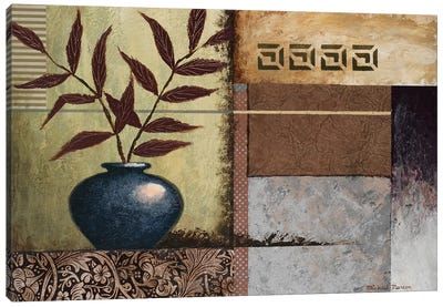 Cobalt Vase Canvas Art Print