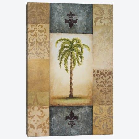 Fantasy Palm II 3-Piece Canvas #MMC52} by Michael Marcon Canvas Print