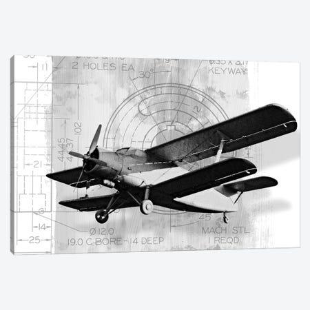 Flight Plans II Canvas Print #MMC55} by Michael Marcon Canvas Wall Art