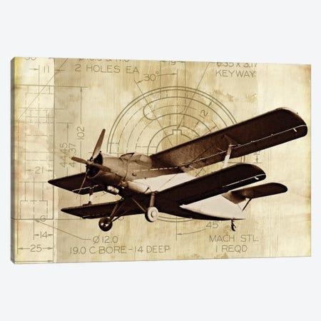 Flight Plans II Canvas Print #MMC56} by Michael Marcon Canvas Artwork