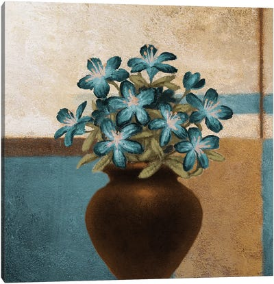 Floral Motif I Canvas Art Print