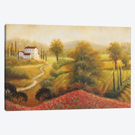 Flourishing Vineyard I Canvas Print #MMC59} by Michael Marcon Art Print