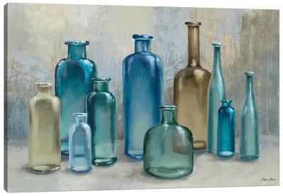 Glass Reflections Canvas Art Print