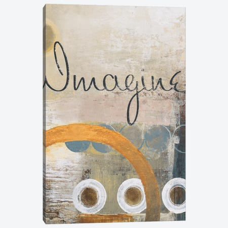 Imagine 3-Piece Canvas #MMC74} by Michael Marcon Canvas Wall Art