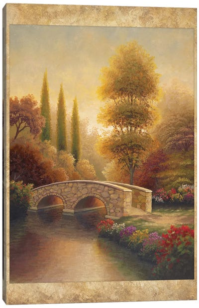 Into VIola Canvas Art Print