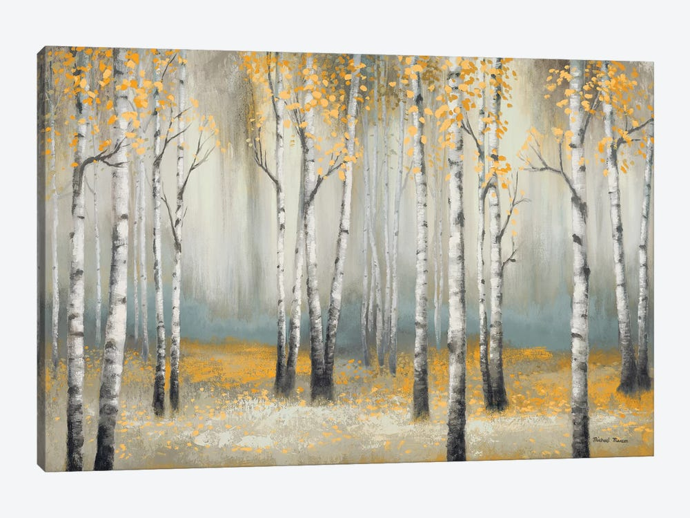 Golden September Birch by Michael Marcon 1-piece Canvas Art Print