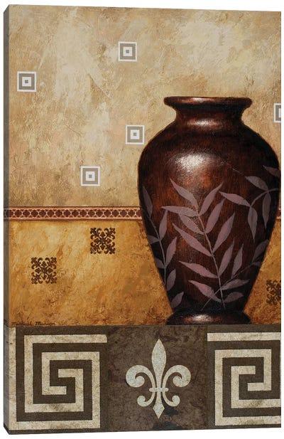 Mahogany Urn I Canvas Art Print