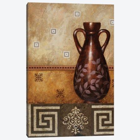 Mahogany Urn II Canvas Print #MMC91} by Michael Marcon Canvas Art Print