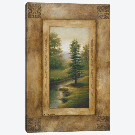 Marshfield Morning Canvas Print #MMC93} by Michael Marcon Art Print