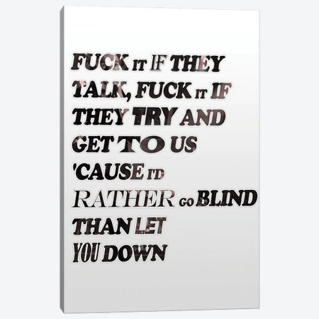 Catfish And Bottlemen - Cocoon Text Canvas Print #MMD15} by JMA Media Canvas Print