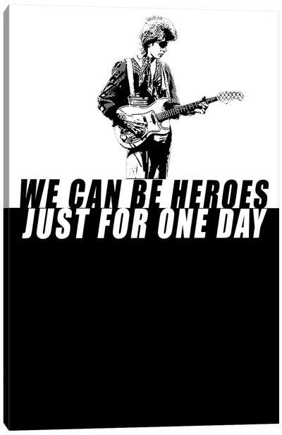 David Bowie - Heroes Canvas Art Print