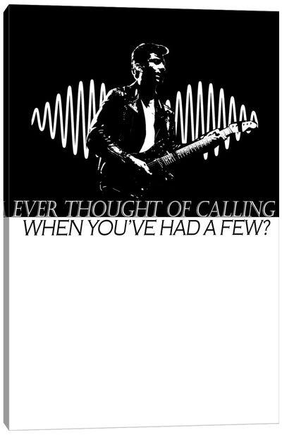 Arctic Monkeys - Do I Wanna Know Canvas Art Print